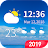 7- day weather forecast and daily temperature Icône