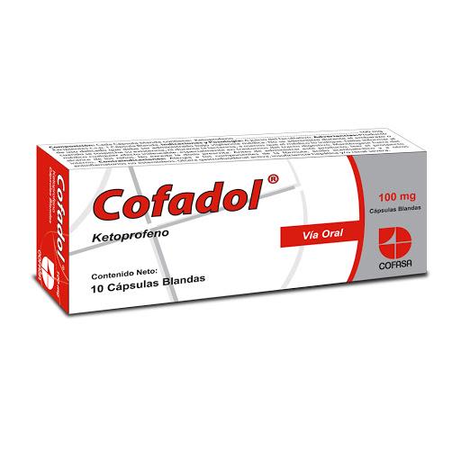ketoprofeno cofadol 100mg 10 cap cofasa