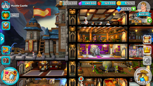 Hustle Castle: Fantasy Kingdom game (apk) free download for Android/PC/Windows screenshot