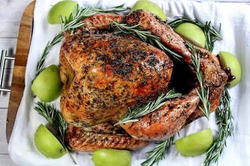 """Mom's Thanksgiving Rosemary Roasted Turkey """"If you're a fan of the Mediterranean..."""