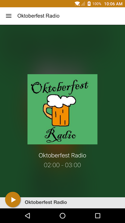 Oktoberfest Radio- screenshot