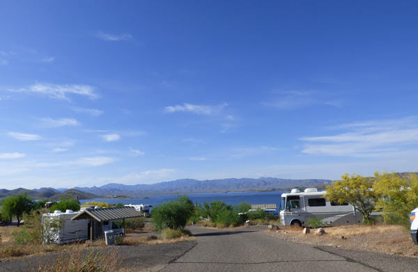 Roadrunner Campground, Lake Pleasant