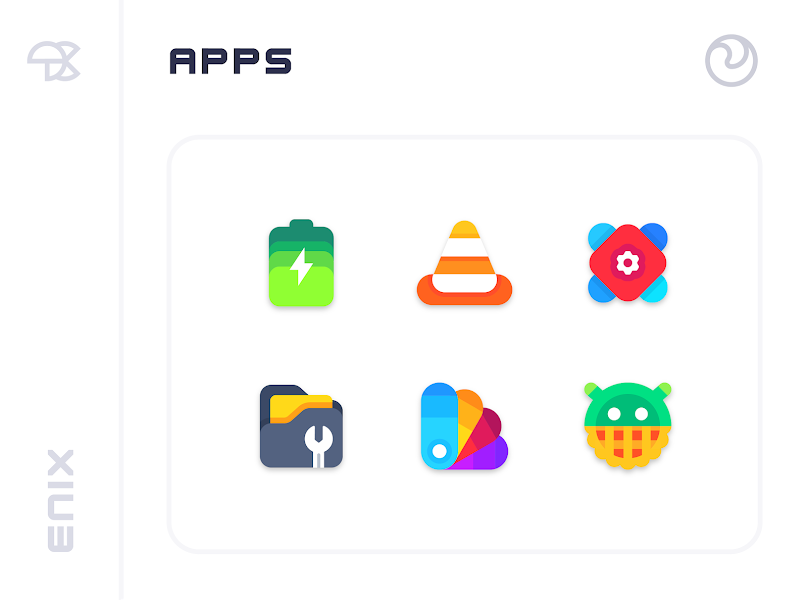 Download APK: ENIX – Icon Pack v2.3 [Patched]