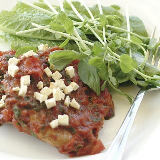 Steak Pizzaiola.