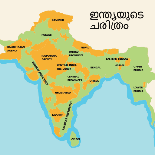 History of India in Malayalam
