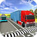 Us Heavy City Truck Driving Icon