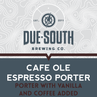 Logo of Due South Cafe Olé Espresso Porter