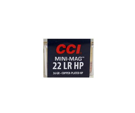 CCI 22lr Mini-Mag HP 36gr