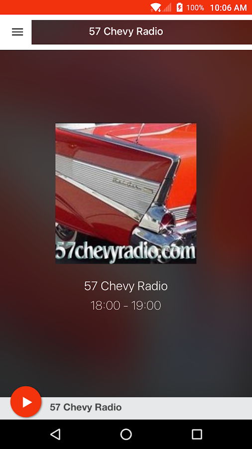 57 Chevy Radio- screenshot