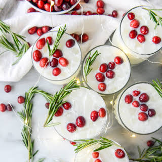 White Christmas Margaritas.
