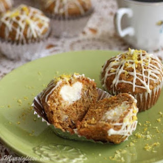 Cream Cheese-Filled Carrot Muffins