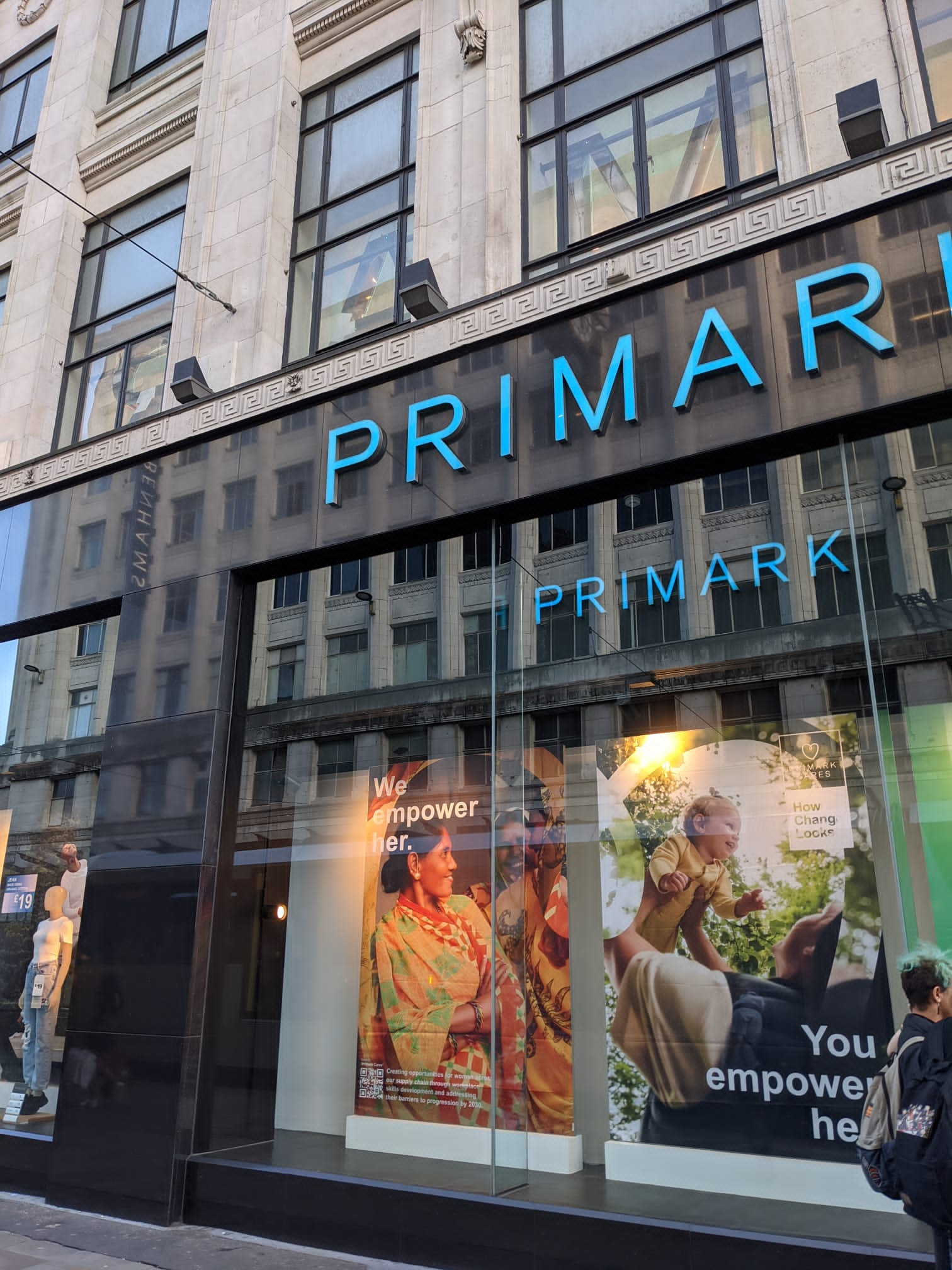 Manchester Primark buys fresh produce