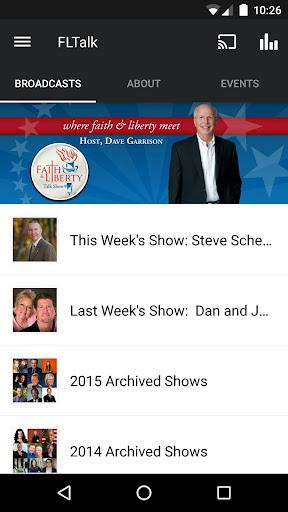 The Faith Liberty Talk Show