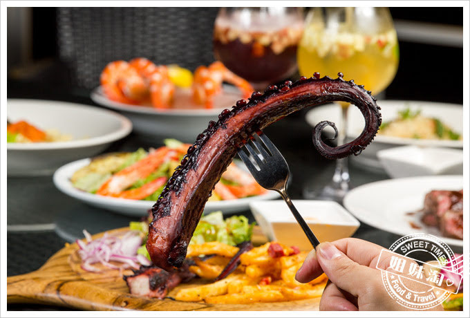 貝隆餐酒館-西班牙碳烤大章魚