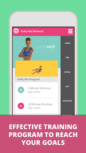 Daily ABS Workout Lumowell