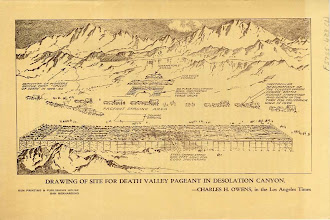 Photo: Program from the 1949 Death Valley Centennial Celebration