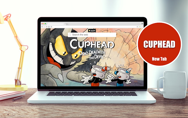 Cuphead Wallpapers New Tab Theme