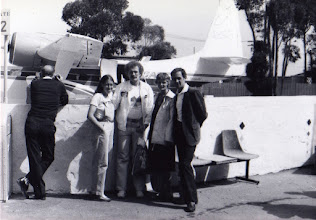Photo: Catalina Marathon: Jacqueline, Tom, Jack & Belle Foster 1981