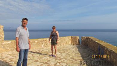Photo: Vi klättrade upp för att se på utsikten..