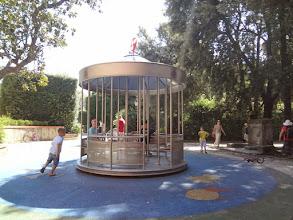 Photo: We stopped by a nice playground in Giardino Scotto