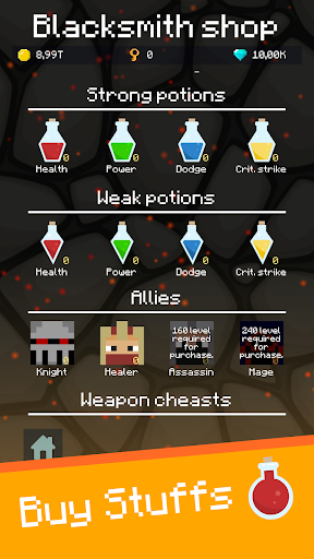 Mine Mob Clicker Rpg apklade screenshots 2