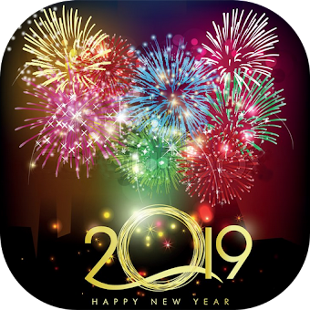 Happy New Year GIF Animated 2019