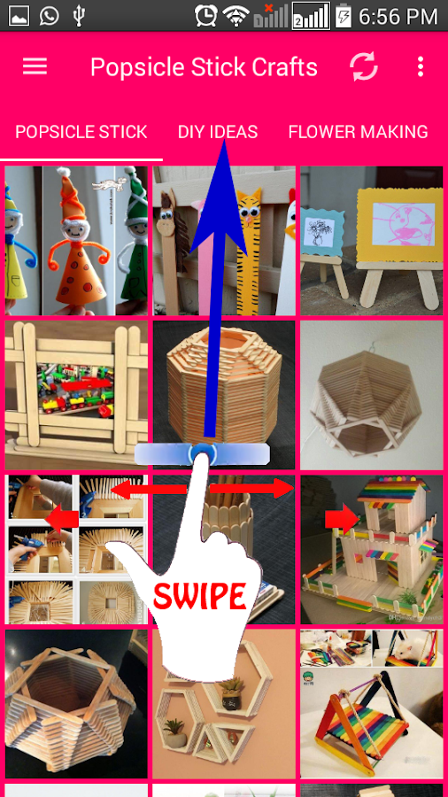 Popsicle Stick Crafts- screenshot