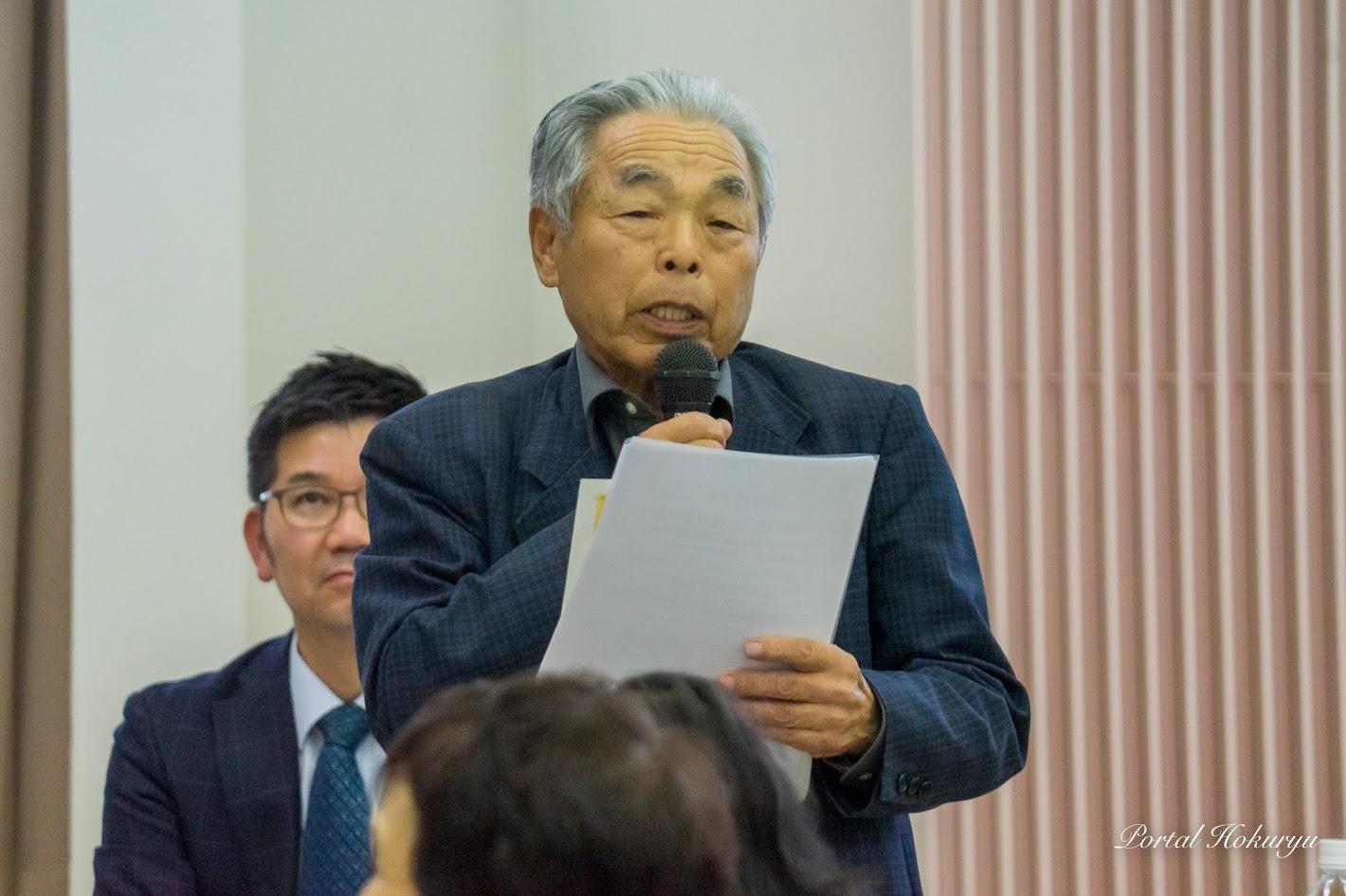 若年認知症家族会「空知ひまわり」田中盛亮 副代表