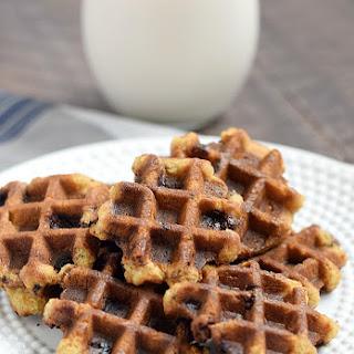 Chocolate Chip Waffled Cookies Recipe