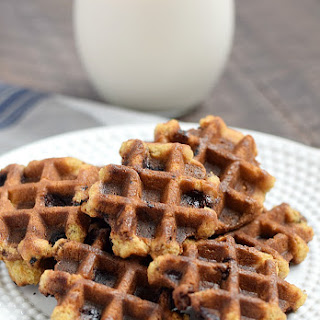 Chocolate Chip Waffled Cookies.