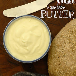 Vegan Aquafaba Butter.