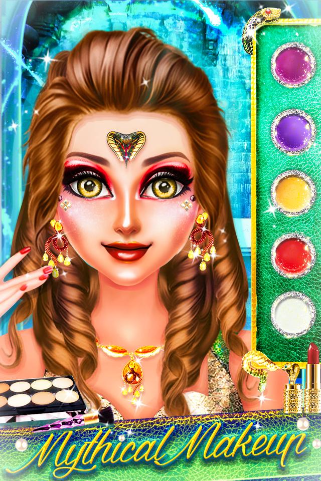 Snake Girl Salon - Naagin Game Android 8