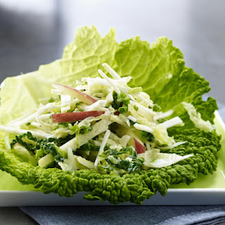 Apple and Savoy Cabbage Salad.