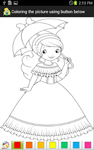 Princess Coloring Pages - Android Apps on Google Play