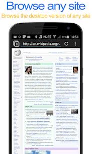 Desktop FullScreen Web Browser Apk  Download For Android 10