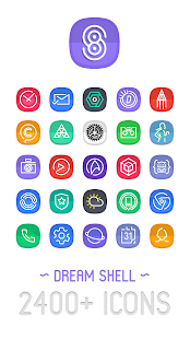 Dream Shell ~ S8/Note8 Icon Pack Screenshot