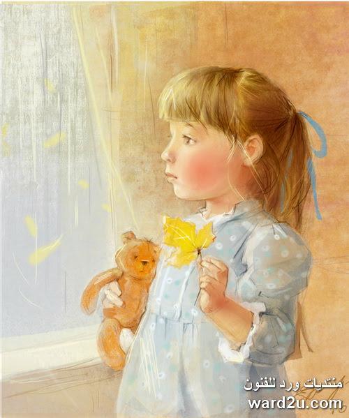 لوحات الفنانة الروسية Kate Babok