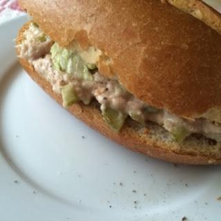Homemade Tuna Salad.
