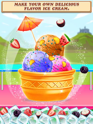Code Triche Street Ice Cream Shop - Summer Beach Carnival APK MOD screenshots 4
