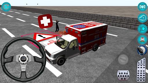 Ambulans Şoförü 3D Gerçek