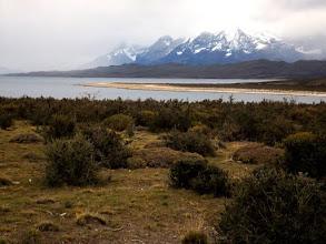 Photo: Erster Ausblickaif Torres del Paine.