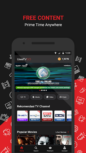 UseeTV GO - Watch TV & Movie Streaming 6.1.1 Screenshots 1