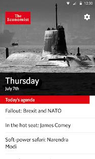 The Economist Espresso - náhled