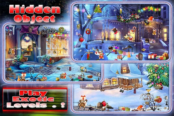 android Christmas Snow Scene Screenshot 1