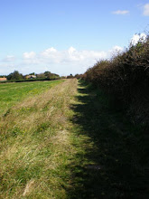 Photo: Norfolk Coast Path - From Brancaster to Warham - Approaching Burnham Overy Staithe