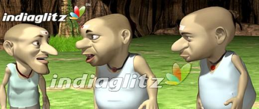 The three bhagavatars! (Cartoon courtesy: movie 'Inime Nangathaan')