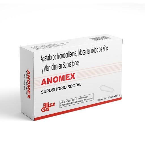 Hidrocortisona + Lidocaina + Zinc + Alantoina Anomex