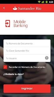 Santander Río - náhled