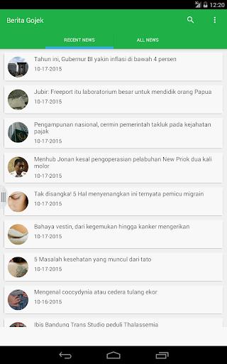 Berita GO-JEK NEW 3.1.0 screenshots 1