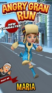 Angry Gran Run MOD 2.5.0 (Unlimited Coins) 3